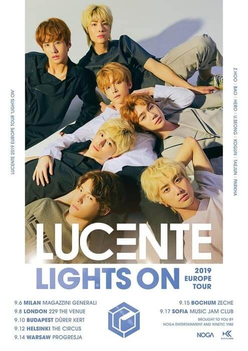 LUCENTE Europe Tour Lights On 2019