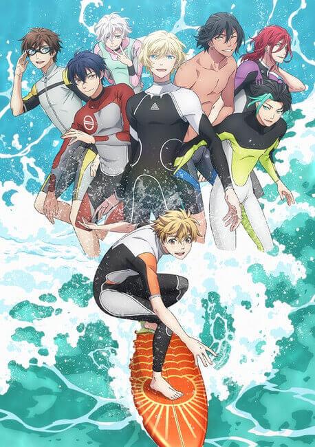 Wave!!: Surfing Yappe!! - Trilogia anuncia Série Anime