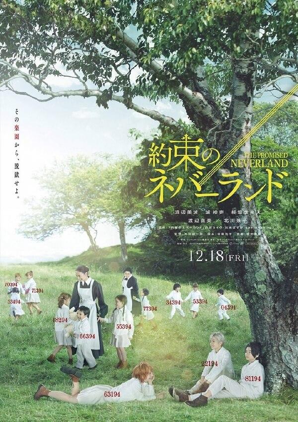 Yakusoku no Neverland - Filme Live-Action revela 1.º Teaser