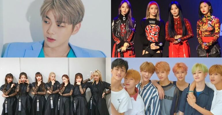 Soribada Best K-Music Awards 2020 anuncia Alinhamento