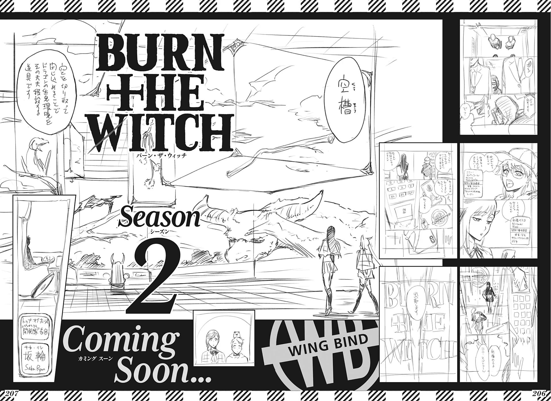 Burn the Witch Manga - Segunda Temporada não chegará em Breve