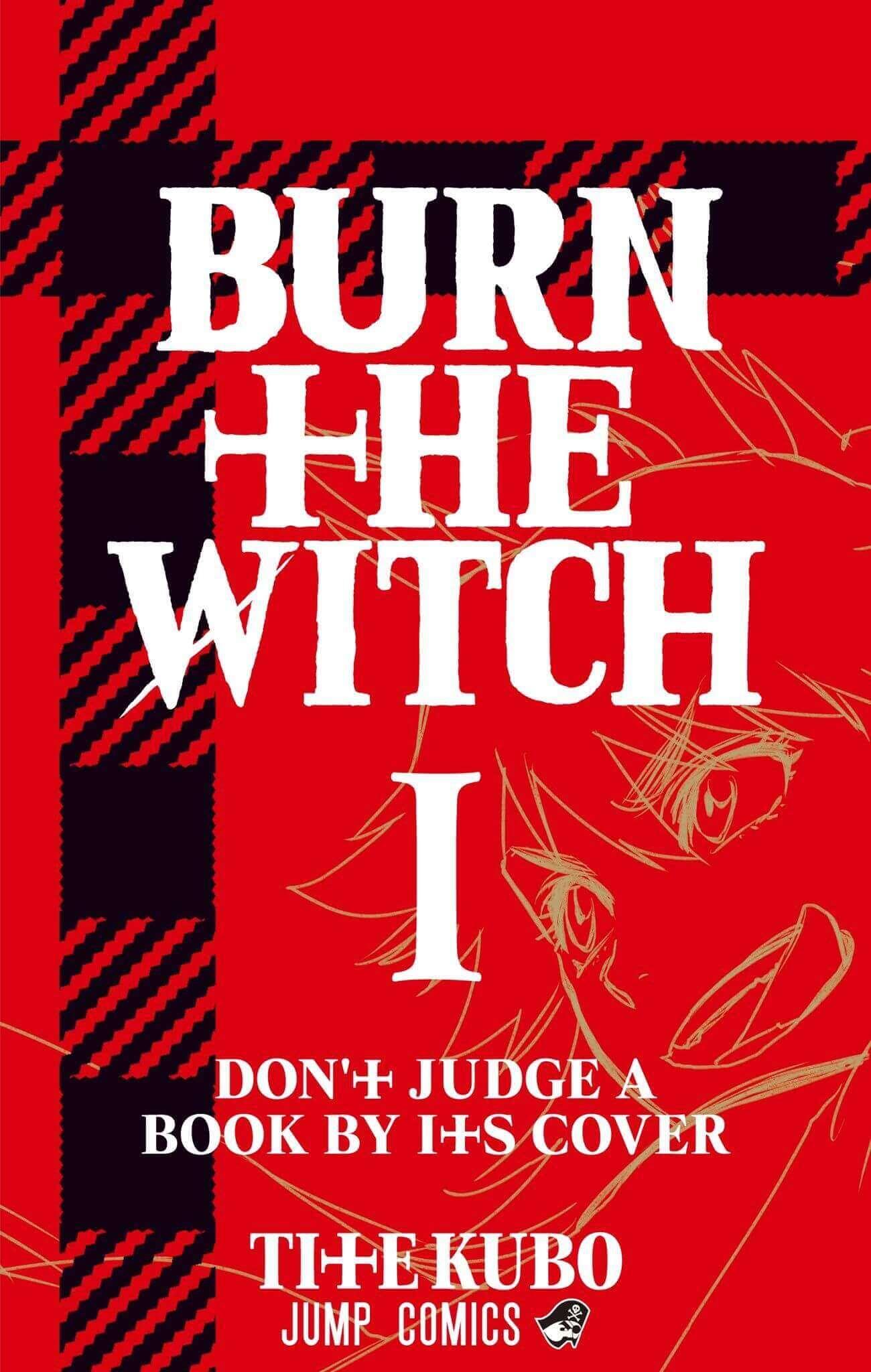 Capa Manga BURN THE WITCH Volume 1