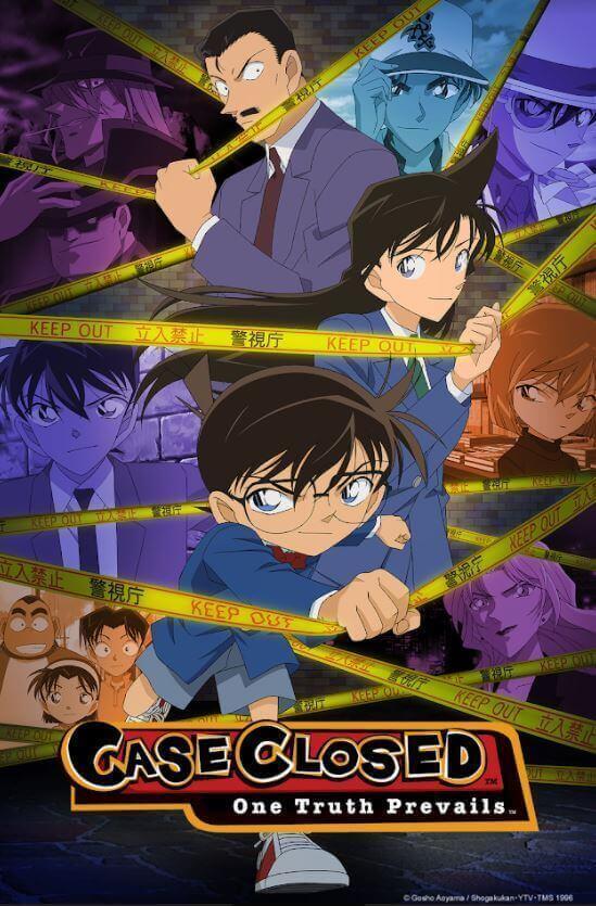 Detective Conan chega à Crunchyroll