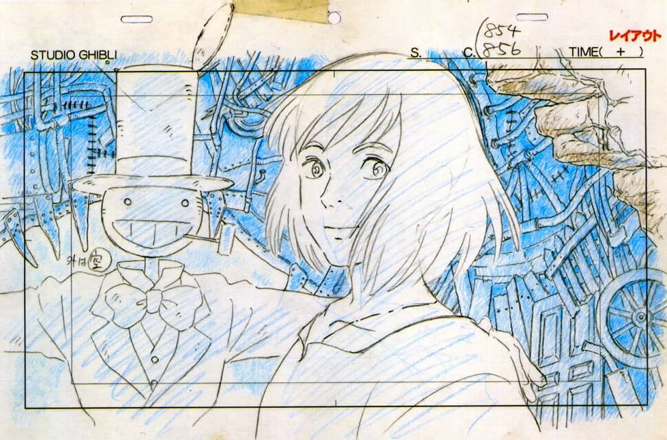 Howls Moving Castle blueprint