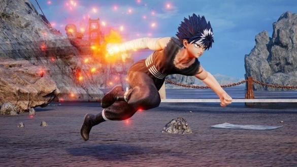 JUMP FORCE - Hiei de Yu Yu Hakusho no Characters Pass 2