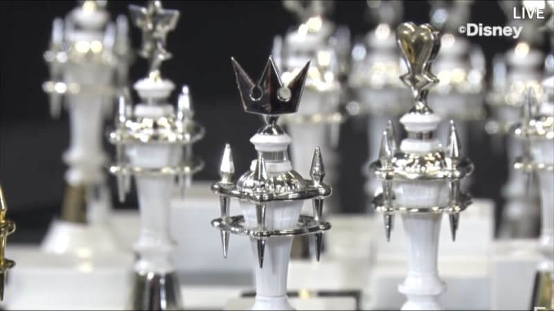 Kingom Hearts Chess Pieces - close shot Sora piece