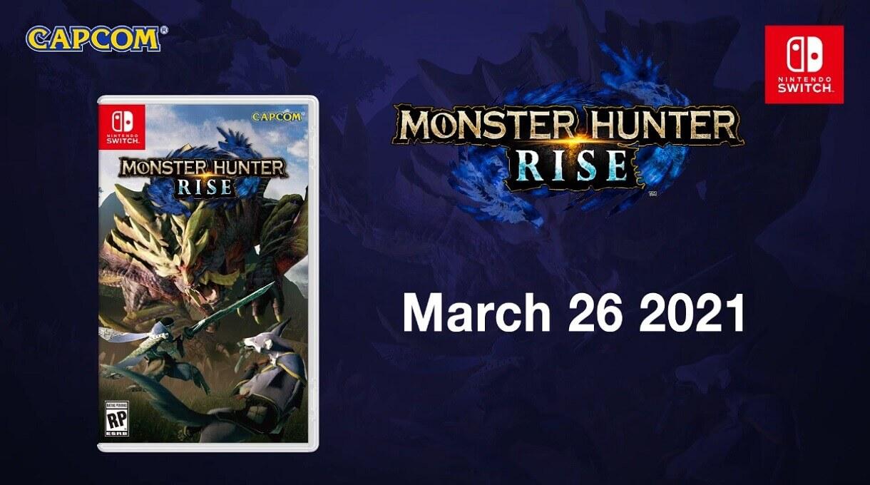 Edição Standard de Monster Hunter Rise