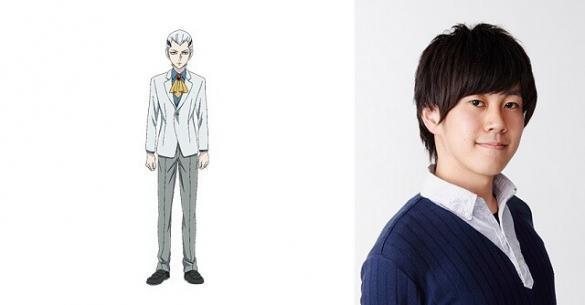 Noblesse anime Akihisa Wakayama como Regis K. Landegre