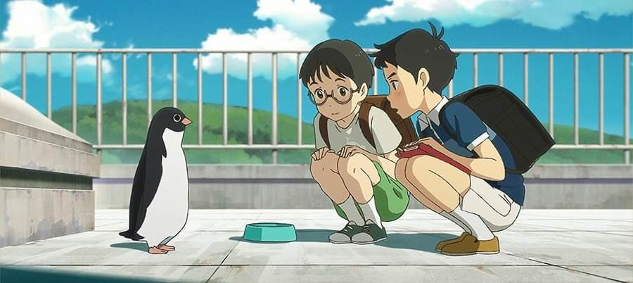 Penguin Highway filme penguin Ayoama Uchida