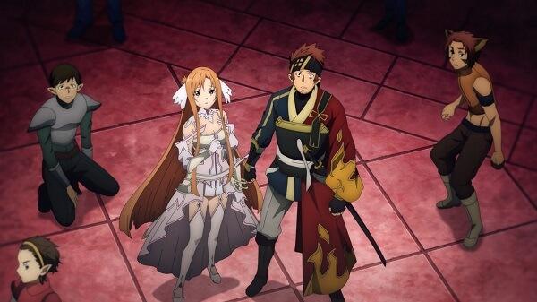 Asuna Klein Sword Art Online Alicization War of Underwolrd