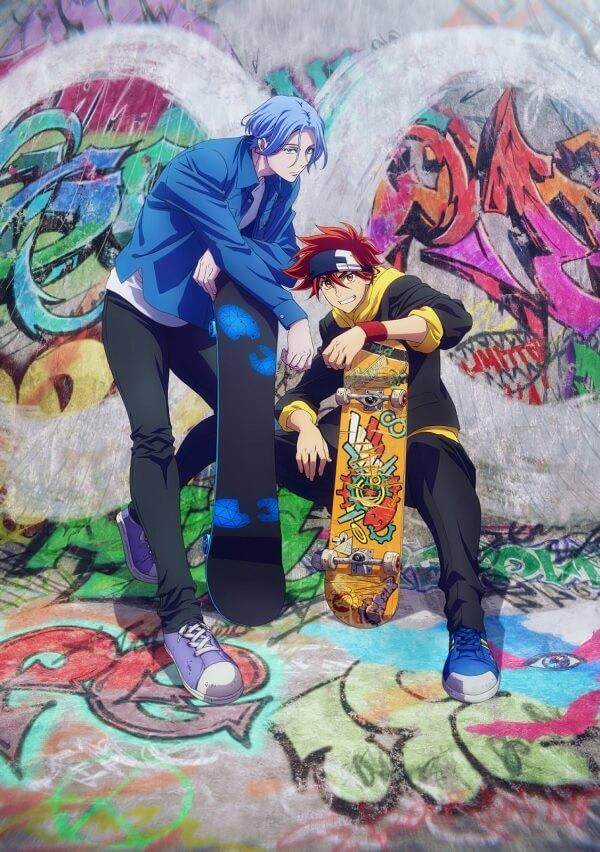SK8 the Infinity - Anime Original por Hiroko Utsumi e estúdio BONES