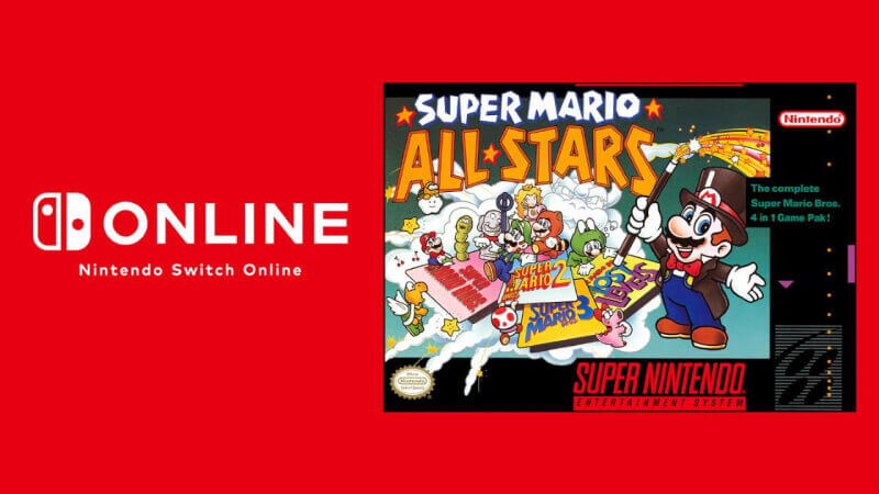 Super Mario All Stars SNES Nintendo Switch Online