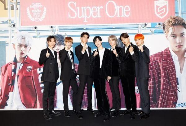 """""""Super One"""" dos SuperM estreia-se em 2º lugar na Billboard 200"""