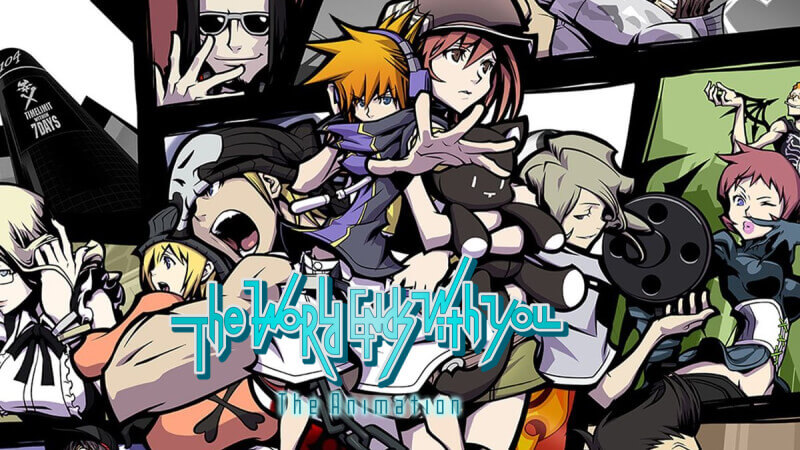 The World Ends With You The Animation Antevisao Destaque