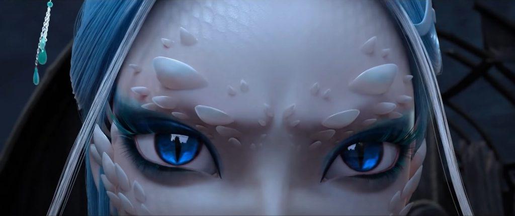 White Snake - Pormenores Animação CGI