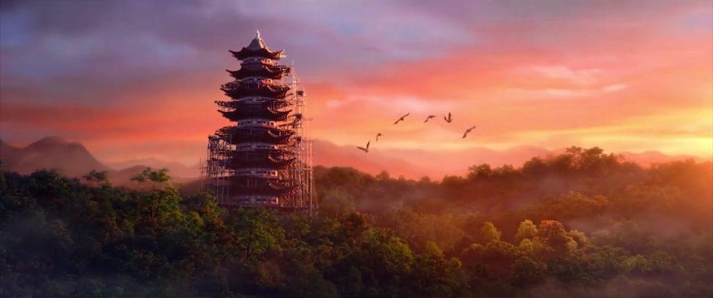 White Snake - Cenários Chineses