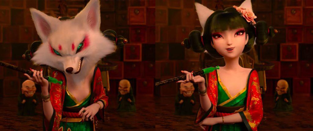"dona da ""Oficina de Jade Preciosa"" (raposa demónio)"