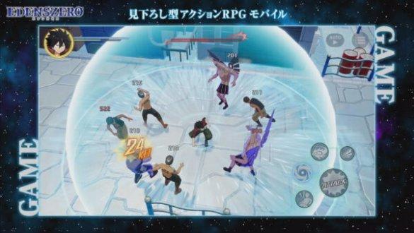 Edens Zero Recebe Dois Jogos de Ação RPG