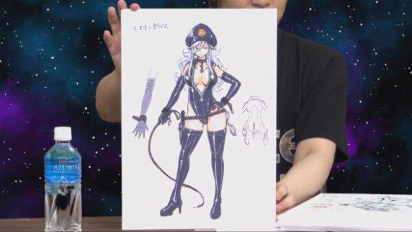 Desenho de Mashiro Hiro