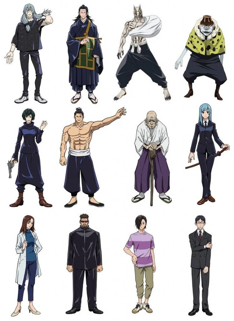 Jujutsu Kaisen - Anime revela novos membros do Elenco
