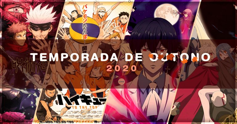 Lista Anime Outono 2020