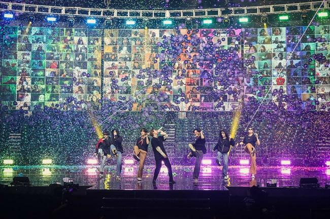 BTS conseguem quase 1 Milhão de Espetadores em Concerto Online