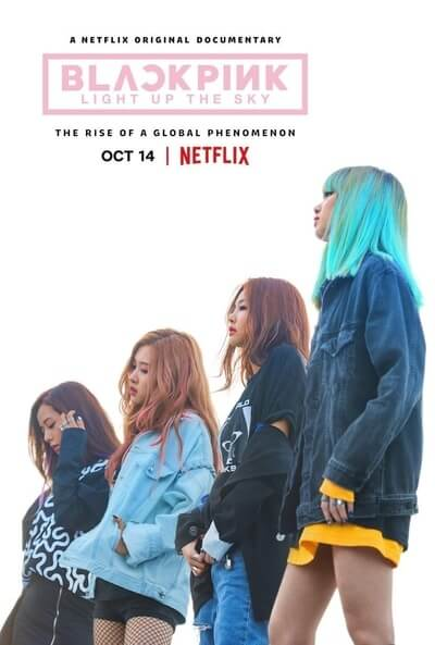 Blackpink Light Up the Sky Netflix poster