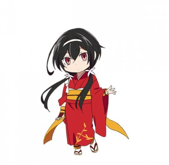 Bungo Stray Dogs wan! Kyoka Izumi character design