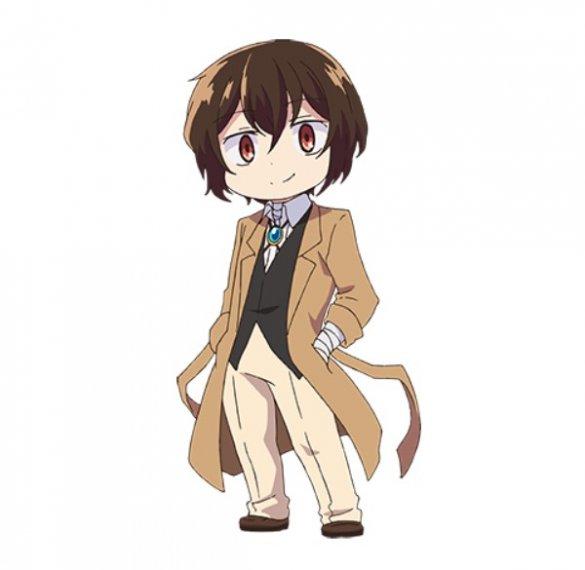 Bungo Stray Dogs wan! Osamu Dazai character design