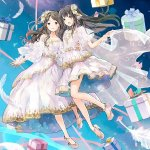 ClariS - Integrantes do duo revelam caras em concerto online