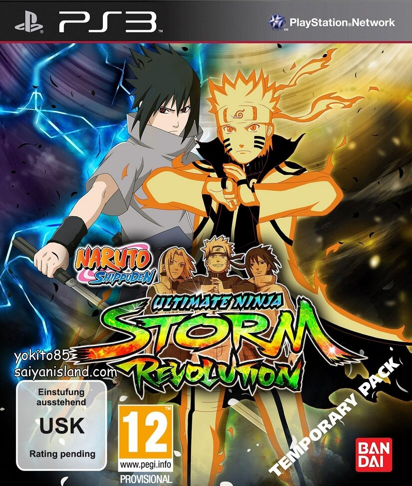 Cover Playstation 3 Naruto Shippuden Ultimate Ninja Storm Revolution