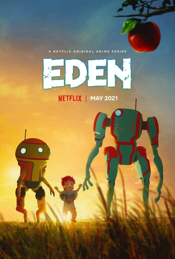 Eden - Anime Original revela Data e Novas Informações