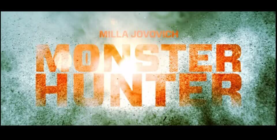 MONSTER HUNTER LIVE-ACTION – FILME REVELA TRAILER