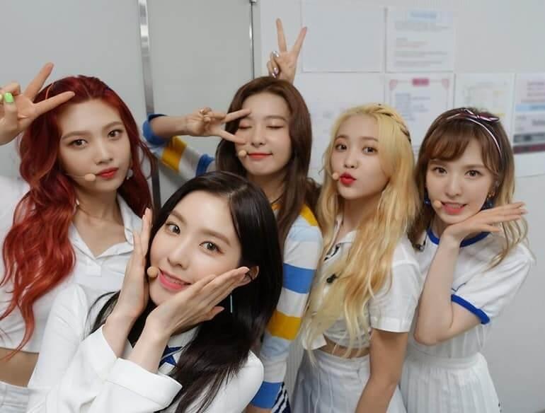 Red Velvet terminam contrato em 2021 K-POP Grupos que terminam os seus contratos em 2021