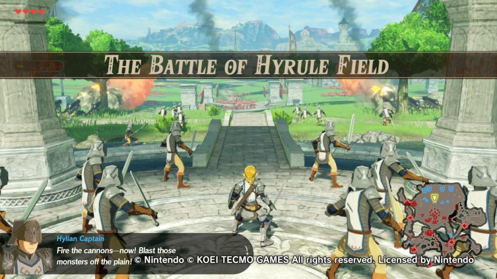 Hylure Warriors: Age of Calamity - Impressões da Demo - Hyrule Warriros Age of Calamity Gameplay Demo