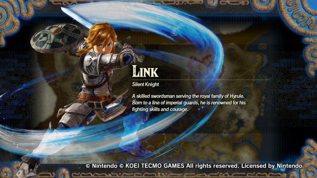 Hyrule Warriors: Age of Calamity descição Link