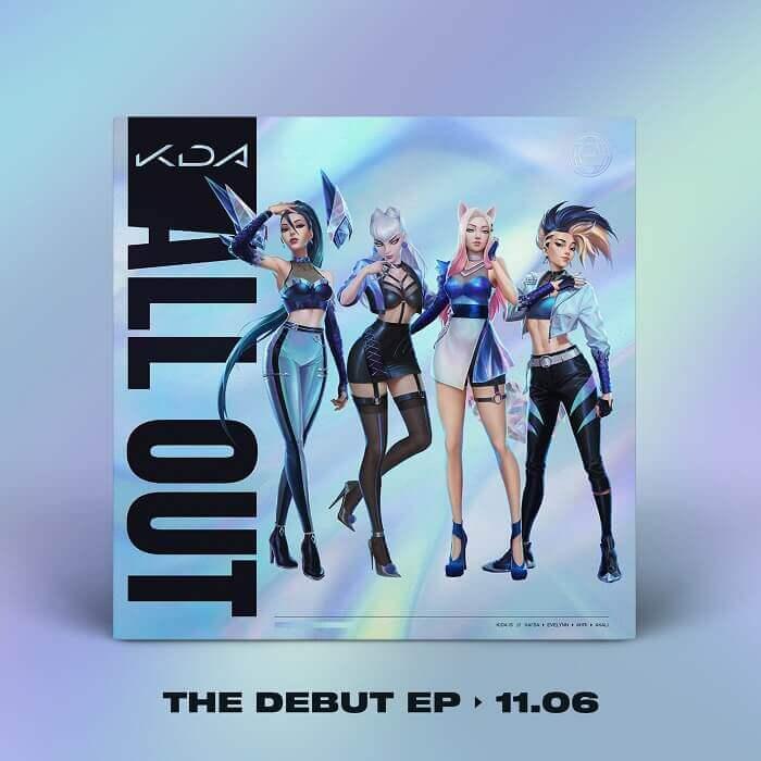 album debut ep date k_da album all out