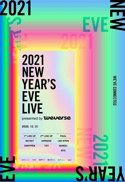 Big Hit Labels realizará 1º Concerto na Véspera de Ano Novo