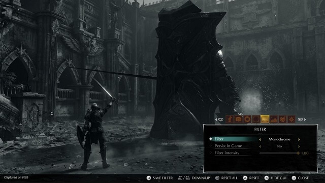 Demon's Souls Remake Modo Fotografia