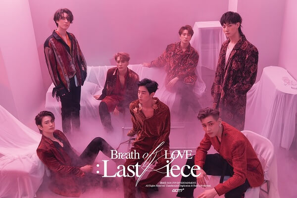 "GOT7 lançam Teasers para ""Breath of Love: Last Piece"""