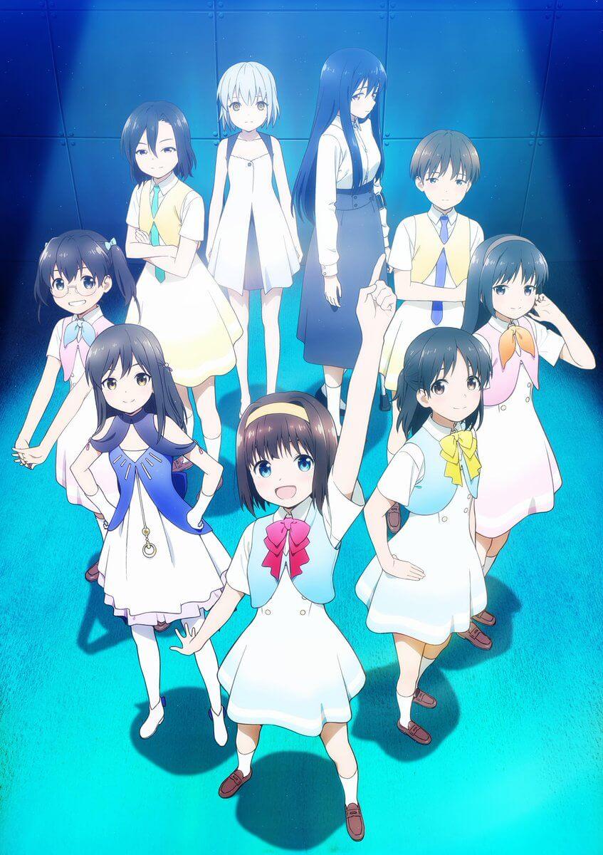 Gekidol - Anime Original revela Data de Estreia e Poster