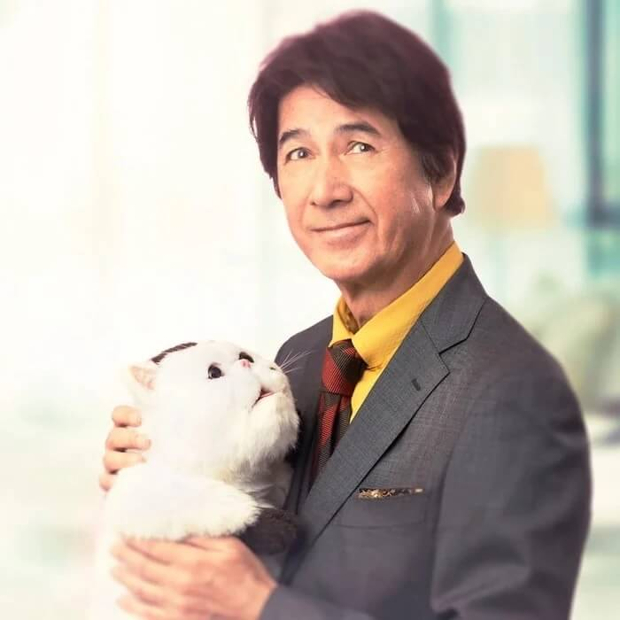 Masao Kusakari_a man and his cat serie live action A Man and His Cat recebe Série Live Action