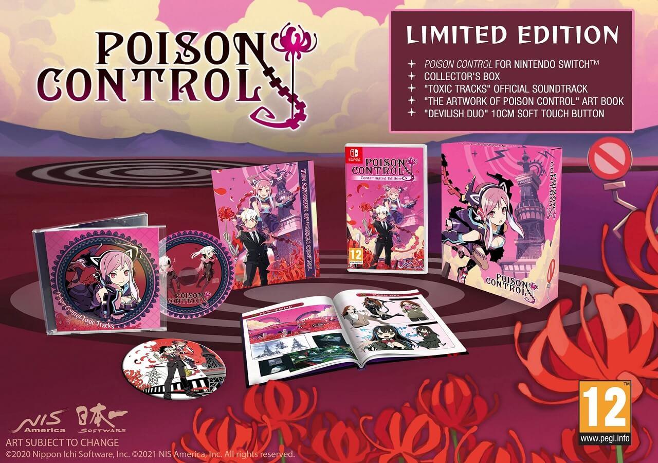Poison Control - Jogo estreia no Ocidente em Abril