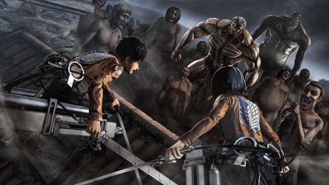 O Mundo Sinergético dos Videojogos e dos Animes - Batalha contra os Titans