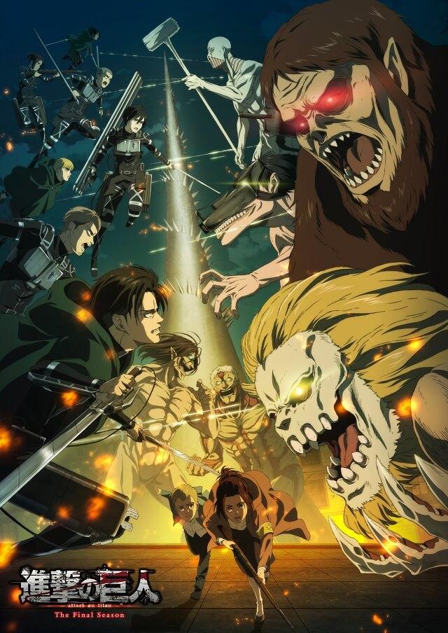 Attack on Titan Final Season revela Vídeo da Opening