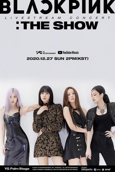 Cartaz oficial do concerto Blackpink