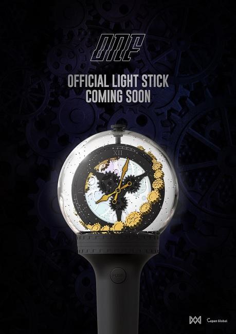 ONF revelam Design do seu Lightstick Oficial