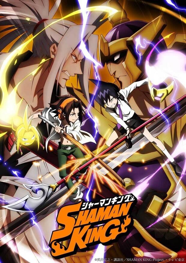 Shaman King - Novo Anime revela primeiro Trailer
