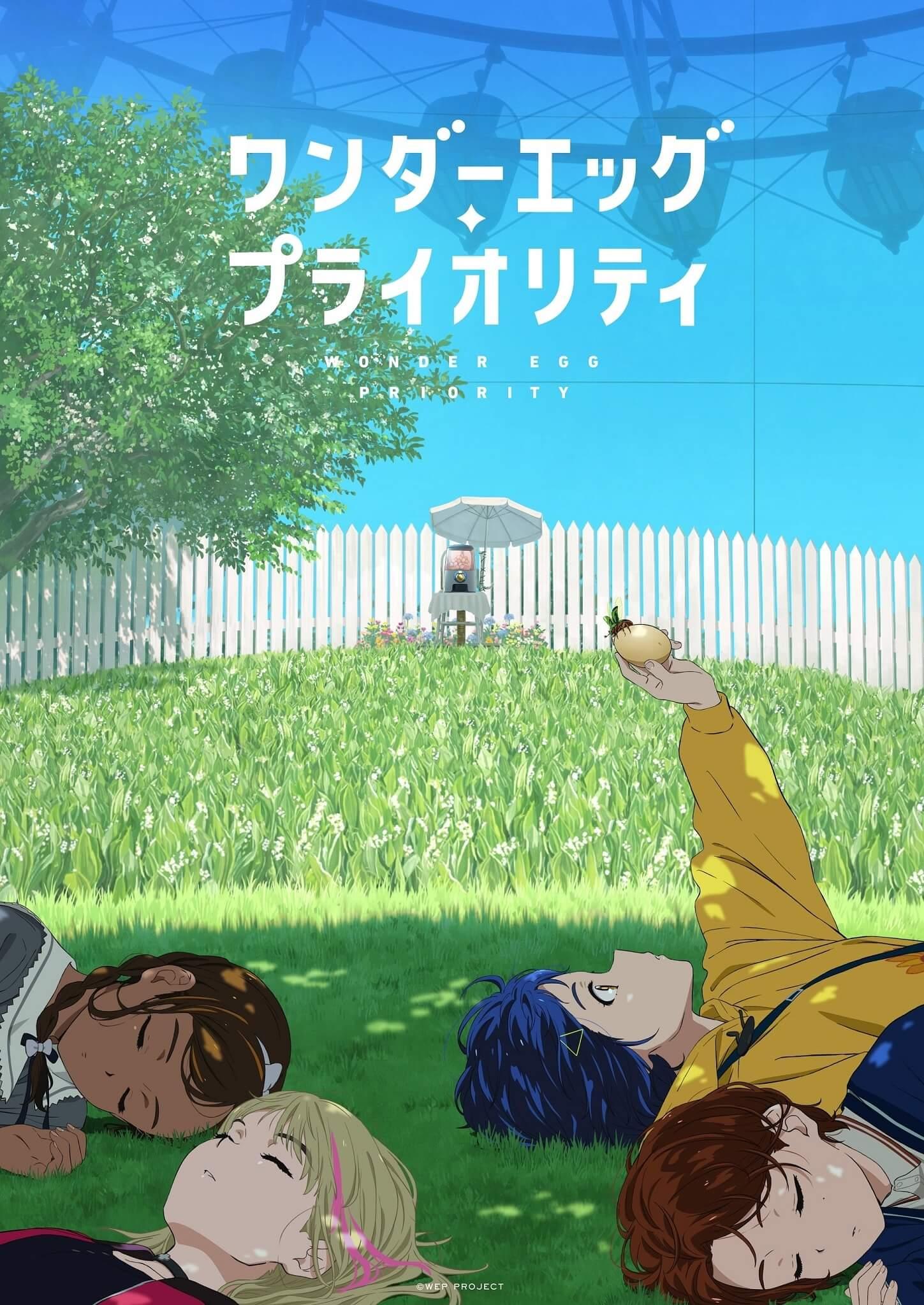 Wonder Egg Priority - Anime original revela Data de Estreia