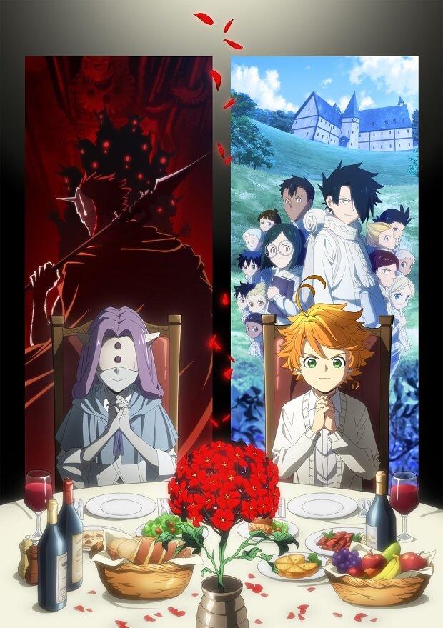 Yakusoku no Neverland – 2.ª Temporada revela Equipa Técnica